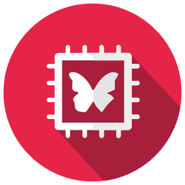 Sigfox butterfly icon